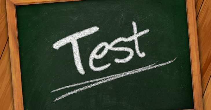 Natpis Test
