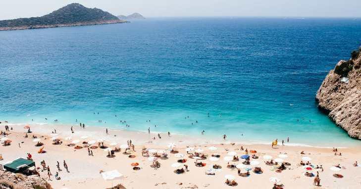 Plaža u Turskoj