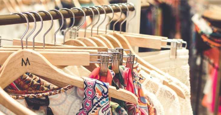Garderoba u butiku