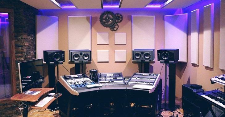 Muzički studio sa izolacijom