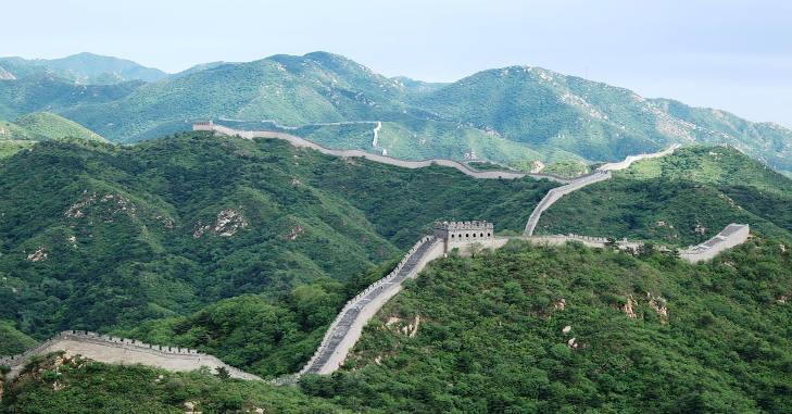 Fotografija kinsekog zida