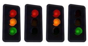 Semafori i svetla na semaforima