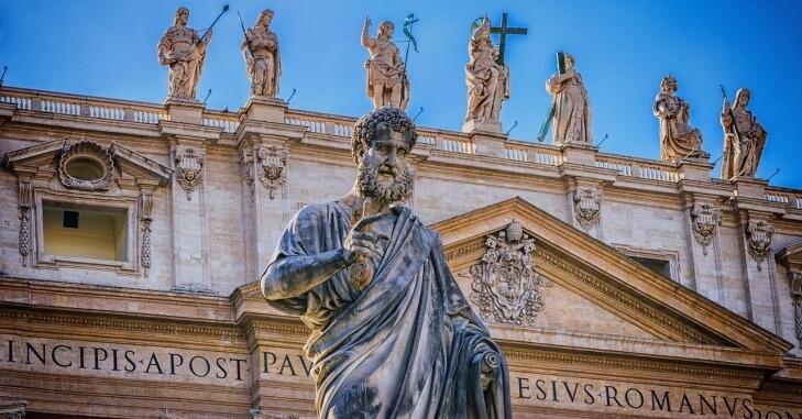 Statua apostola u Rimu
