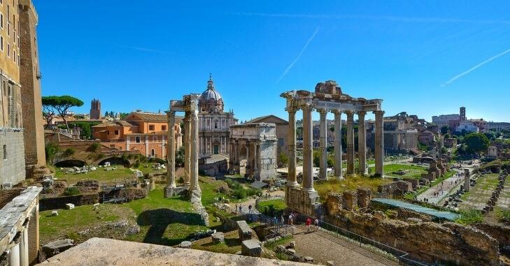Kameni ostaci starog Rima