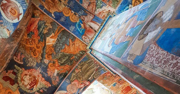 Freske u pravoslavnoj crkvi