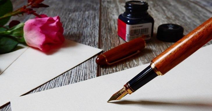 Pisanje penkalom na listu