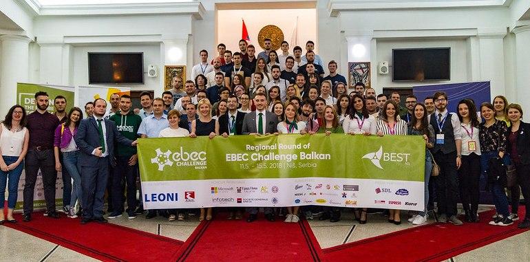 učesnici inženjerskog takmičenja ebec