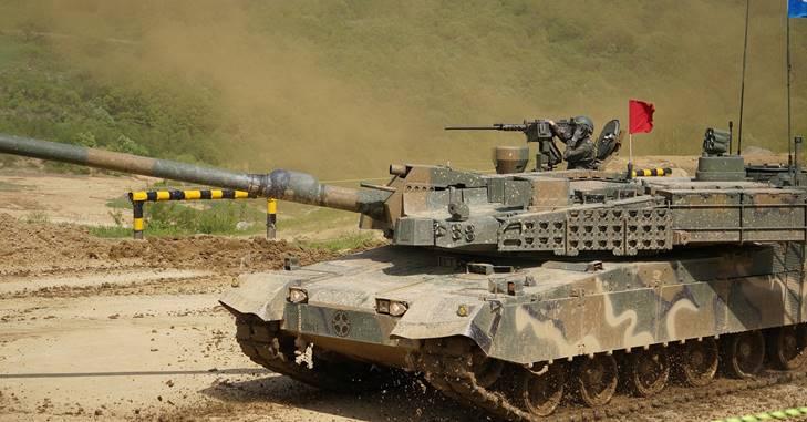 tenk korejski rat