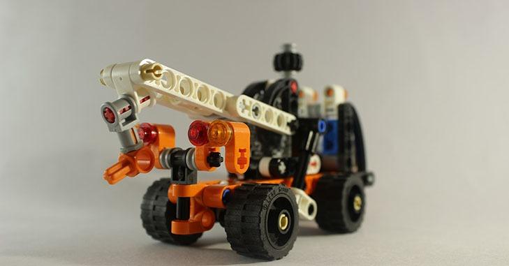 Prikaz modela kamiona za šlep službu vozila