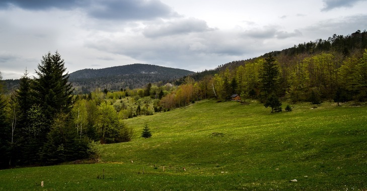 prikaz planinskog venca i prirode Srbije